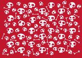Funny skulls — Stock Photo