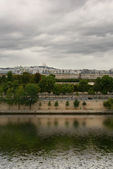 Seine river quay - Paris, France — Stock Photo