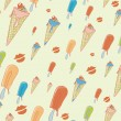 Cool hand-drawn ice creams — Stock Photo #2470660