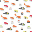 Royalty-Free Stock Photo: Sushi  Pattern