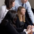 Business team in office — Stock Photo #1444434