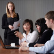 Stock Photo: Business team in office