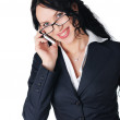 Young charming business woman — Stock Photo