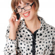 Stock Photo: Charming young business woman