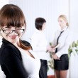 The young business woman — Stock Photo #2362360