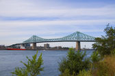 Jacque Cartier Bridge — Stock Photo