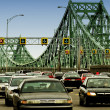 Stock Photo: Traffic On Bridge