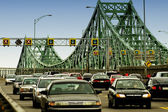 Traffic On Bridge — Stock Photo