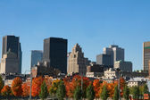 Cityscape in the Fall — Stock Photo