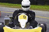 Go-kart Action — Stock Photo