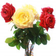 Stock Photo: Roses bouquet