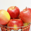 Royalty-Free Stock Photo: Red apples in the basket