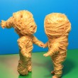 Mummy dolls — Stock Photo