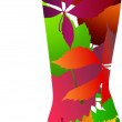 Royalty-Free Stock Vector Image: Floral stylized boot.