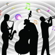 Royalty-Free Stock Vector Image: Musicians.