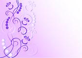 Background with Irises. — Stock Vector