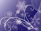 Winter vector backgrounds. — Stock Vector