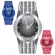 Stock Vector: Watches.