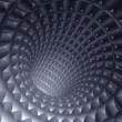 3d abstract tunnel — Stock Photo