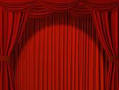 Tiyatro perdesi — Stok fotoğraf