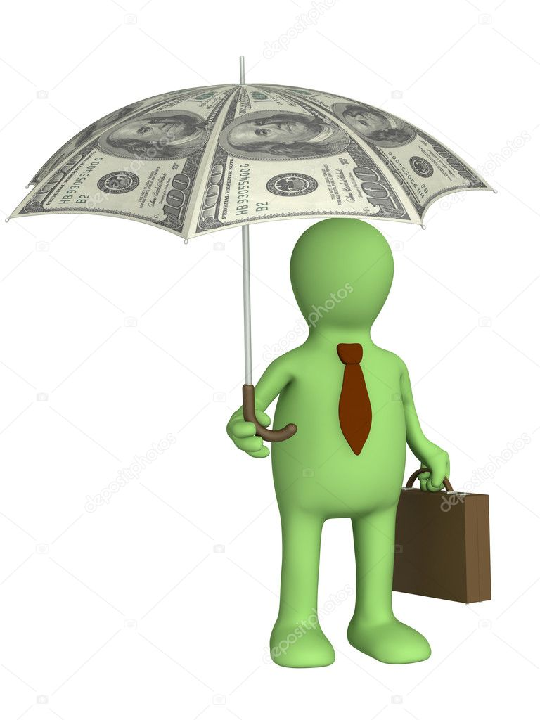 Conceptual image - financial protection — Stock Photo #1061881