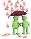 Protección contra problemas — Foto de Stock
