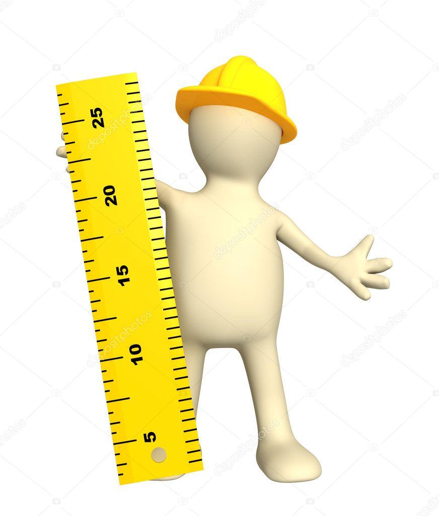Boneco 3d Builder Com R Gua Fotografias De Stock