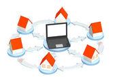 Internet provider — Stock Photo