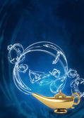 Magic lamp — Stock Photo