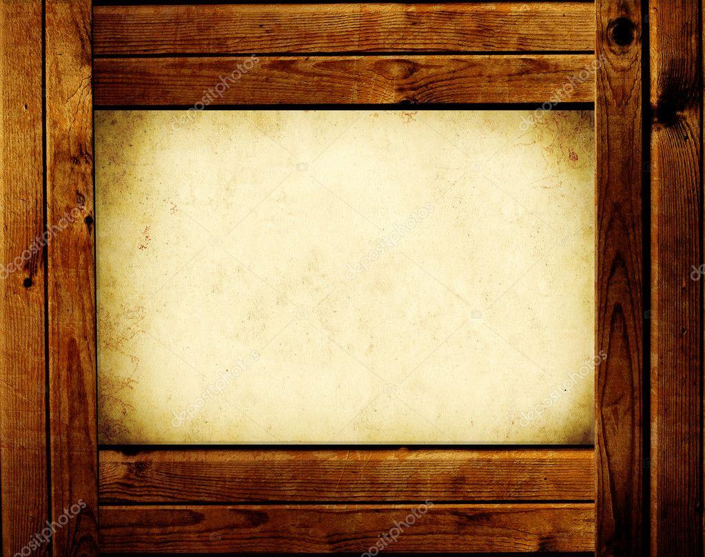 Marco de madera foto de stock frenta 2682858 - Marcos de fotos madera ...