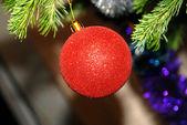 New Year's sphere — Stock Photo
