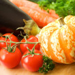 Royalty-Free Stock Photo: Vegetable background