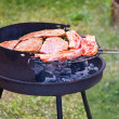 Royalty-Free Stock Photo: Summer grilling