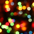Abstract holiday lights — Stock Photo