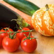 Vegetable background - Foto de Stock