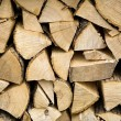 Stack of wood background — Stock Photo