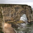 Stock Photo: Etretat, Northern France