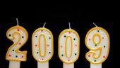 šťastný nový rok 2009 — Stock fotografie