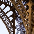 Stock Photo: Fragment of Eiffel Tower