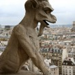 Close-up of gargoyle - Stock Photo
