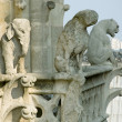 Royalty-Free Stock Photo: Close-up of gargoyles on the top of Notre-Dame de Paris