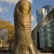 Giant finger sculpture — Stock Photo #1069169