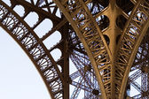 Fragment of the Eiffel Tower — Stock Photo