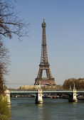 Spring day in Paris — Stock Photo