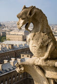 Close-up of gargoyle — Stock Photo