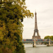 Autumn in Paris - Stock Photo
