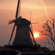 Picturesque old wind mill — Stock Photo
