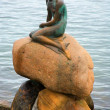 The Little Mermaid statue in Copenhagen — Foto de Stock