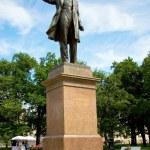 Statue of Alexander Pushkin — Stock Photo