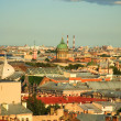 Royalty-Free Stock Photo: Bird\'s eye view of Saint-Petersburg